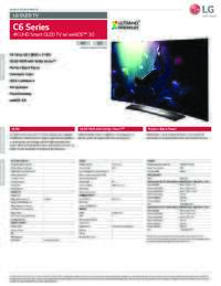 C6 Series Specifications Sheet
