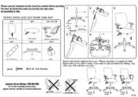 B3035 BK Assembly Sheet