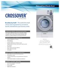 Dryers Specifications Sheet