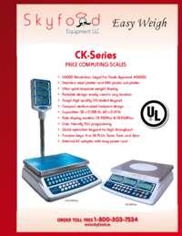 CK Series Spec Sheet