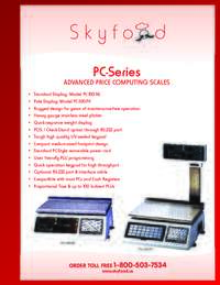PC Series Spec Sheet
