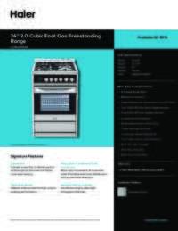 HCR2250AGS Spec Sheet
