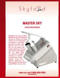 MASTER SKY Spec Sheet