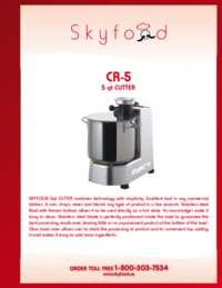 CR 5 Spec Sheet