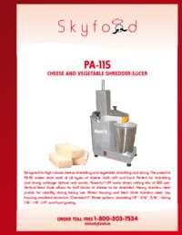 PA 11S Spec Sheet