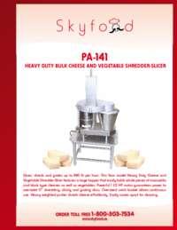 PA 141 Spec Sheet