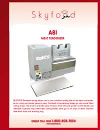 ABI Spec Sheet