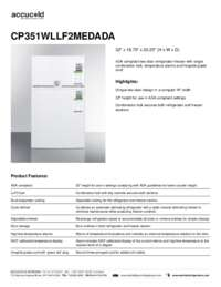 CP351WLLF2MEDADA Spec Sheet