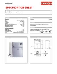CT 200 Spec Sheet