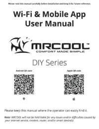 Wi Fi and Mobile App User Manual