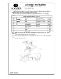 Stellene Side Chair Assembly Instruction