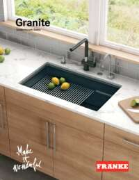 Franke Granite Brochure