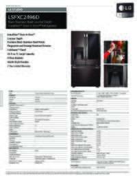 LSFXC2496D Spec Sheets