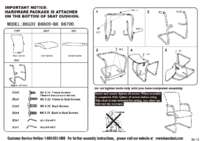 B6609 BK Assembly Sheet