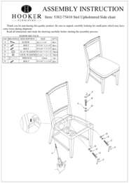 Studio 7H Stol Upholstered Side Chair Assembly Instruction