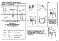 B8999 Assembly Sheet
