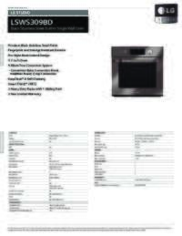 LSWS309BD Spec Sheets
