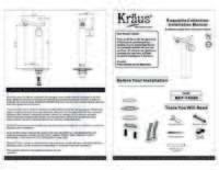 Unicus Faucet Installation Manual