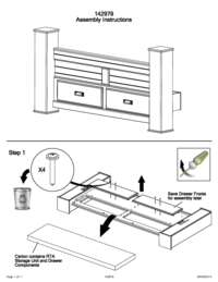 Footboard Storage Assembly