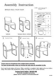 B9519 Assembly Sheet