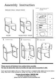 B9521 Assembly Sheet