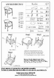 B9540 Assembly Sheet