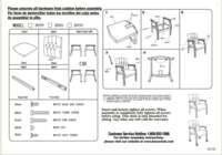 B958M Assembly Sheet