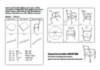 B9557M BK Assembly Sheet