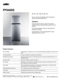 Brochure FF948SS