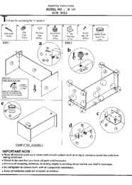 N103 Assembly Sheet
