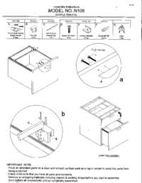 N108 Assembly Sheet
