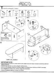 N136 Assembly Sheet