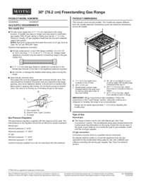 MGS8800FZ Dimension Guide EN