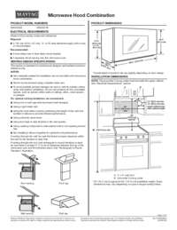 MMV4205FZ Dimension Guide EN