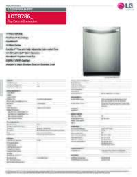 LDT8786 Spec Sheet