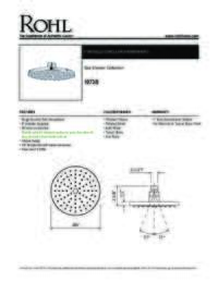 10738 Spec Sheet
