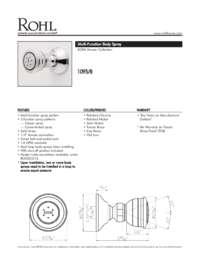 10958 Spec Sheet