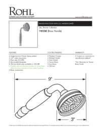 11018 Spec Sheet