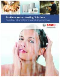 Bosch Tankless Water Heating Solutions