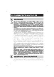 General Instruction Book