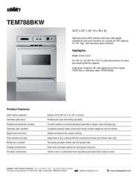 Brochure TEM788BKW