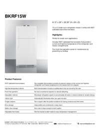 Brochure BKRF15W