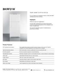 Brochure BKRF21W