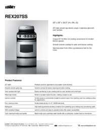 Brochure REX207SS