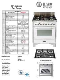UM76DVGG Specifications Sheet