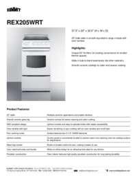 Brochure REX205WRT