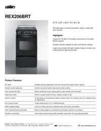 Brochure REX206BRT