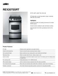 Brochure REX207SSRT