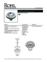 734 Spec Sheet