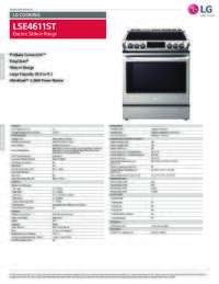 LSE4611 Spec Sheet